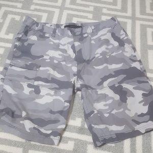 Calvin Klein camo shorts